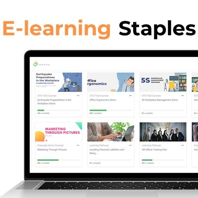 e-learning Staples for Companies